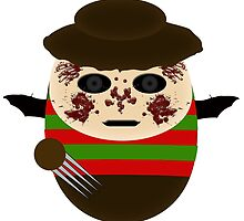 Freddy Kruger by lilwings1313