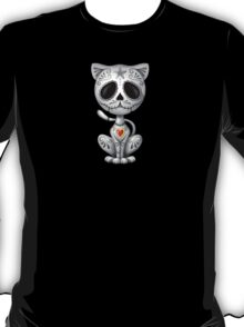 Dark Zombie Sugar Kitten Cat T-Shirt