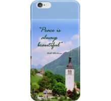 Swiss Valley iPhone Case/Skin