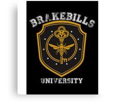 Brakebills University ver.shield Canvas Print