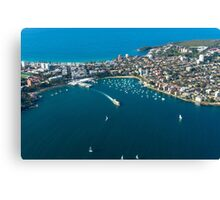 Manly Canvas Print