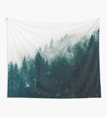 The Silent Forest #redbubble #lifestyle Wall Tapestry