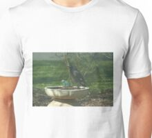 Wary Currawong. Unisex T-Shirt