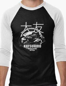 Akira Katsuhrio Cycles - Reversed Men's Baseball ¾ T-Shirt