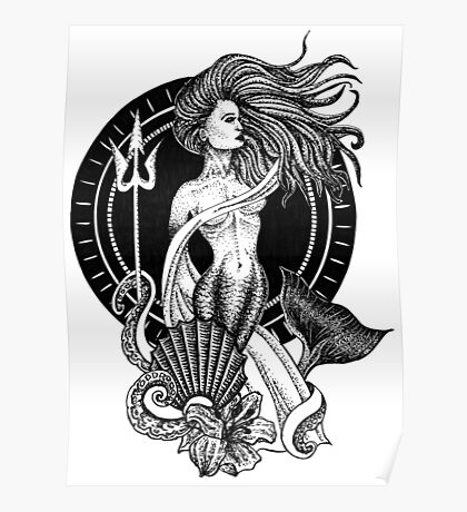 Mermaid of the Sea Poster