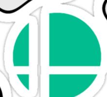 Smash Bros Gamecube Controller Sticker