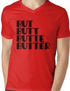 The But Quad Mens V-Neck T-Shirt
