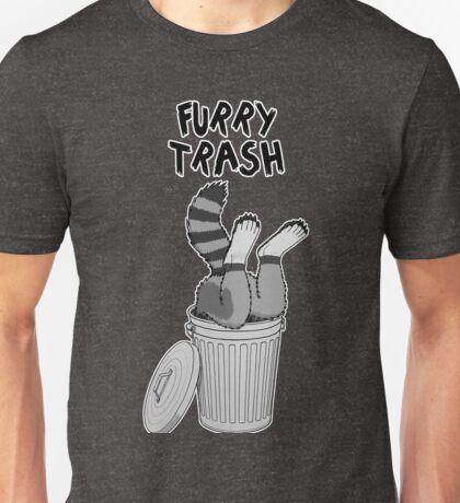 Furry Trash - Gray Raccoon Unisex T-Shirt