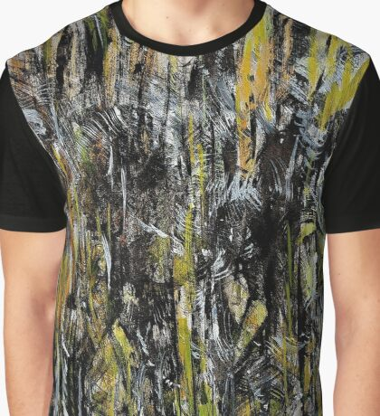 high plateau cliff down to the jungle river below Graphic T-Shirt