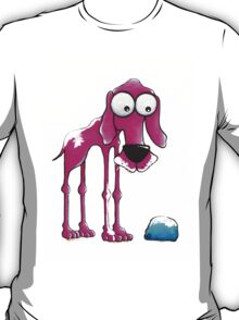 The Pink Dog and his ball T-Shirt