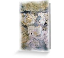 Alamo Bullet Holes Greeting Card