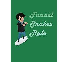 Tunnel Snakes Rule! Photographic Print