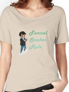 Tunnel Snakes Rule! Women's Relaxed Fit T-Shirt