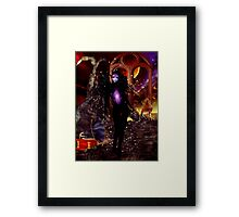 Cosmic Love Song Framed Print
