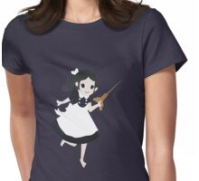 Look Mr.B, an angel. Womens Fitted T-Shirt