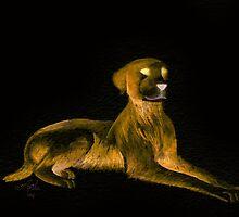 Goosebumps Dog Halloween Painting by Anila Tac