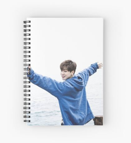 bangtan boys jimin Spiral Notebook
