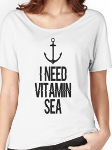 I Need Vitamin Sea T-Shirt Women's Relaxed Fit T-Shirt