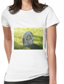 gravestone Womens Fitted T-Shirt