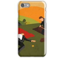 Small Town. Big Secrets. iPhone Case/Skin