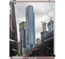 *New arising behind the Q.V.Market roofs- Melbourne, Vic. Australia* iPad Case/Skin