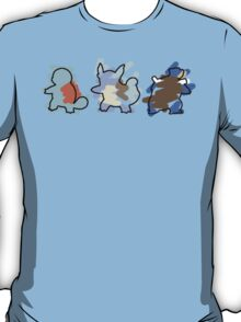 Squirtle Evoloution T-Shirt