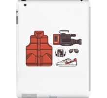 Back To The McFly iPad Case/Skin