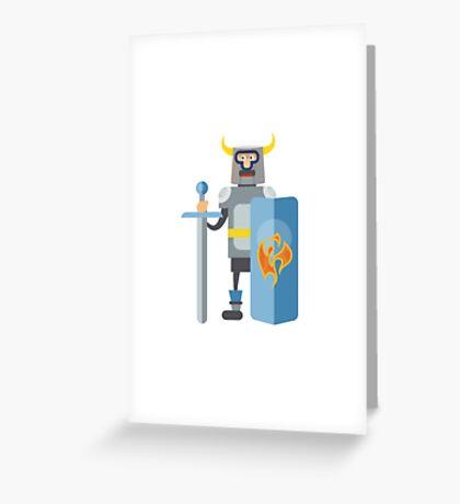 Mitovich knight in armor  Greeting Card