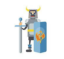 Mitovich knight in armor  Photographic Print
