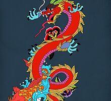 dragon  by motiashkar