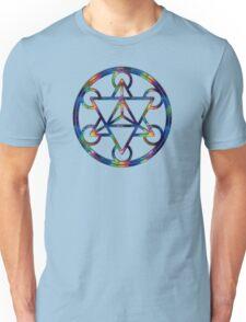 Merkaba Fractal Sacred Geometry Unisex T-Shirt