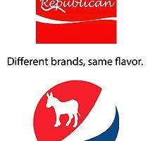 Different Brands, Same Flavor by denverundergrnd