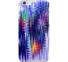 Blue Shift - Abstraction Collection iPhone Case/Skin