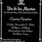 Dia de los Muertos dead art exhibit by John Dicandia  ( JinnDoW )
