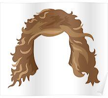 messy hair Poster