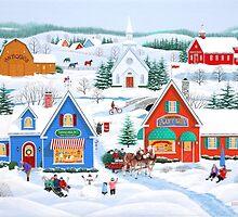 Wintertime in Sugarcreek by kirbeekatz