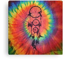 Catcher of the Vivid Nights | Tie Dye Canvas Print