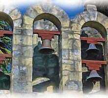 The Alamo Mission Bells by shutterbug941