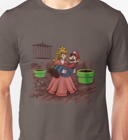 Peach, Mario Needs Help! Unisex T-Shirt