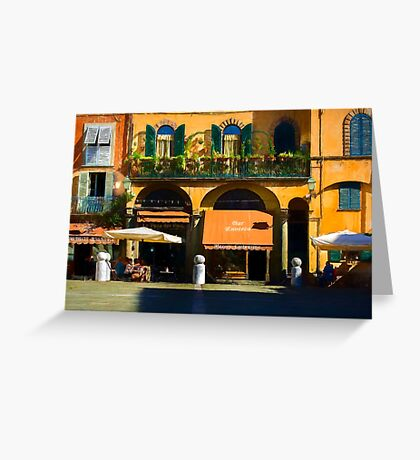 Lucca Eatery Greeting Card