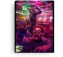 Hotline Miami Canvas Print