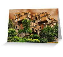 ๑۩۞۩๑HABITAT 67 MONTREAL ,CANADA,ARCHITECTURAL LANDMARK-VERSION TWO ๑۩۞۩๑ PICTURE ,PILLOW,TOTE BAG, Greeting Card
