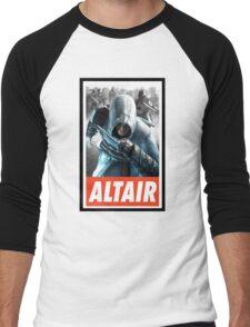 -GEEK- Altair Assassin's Creed Men's Baseball ¾ T-Shirt