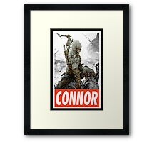 -GEEK- Connor Assassin's Creed Framed Print