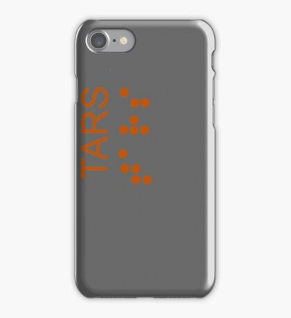 TARS Logo - Interstellar iPhone Case/Skin