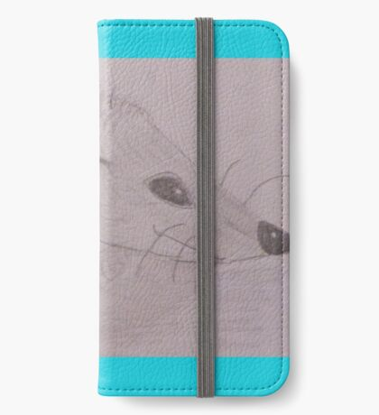 the cutest hedgehog i phone 6 flip case! iPhone Wallet/Case/Skin