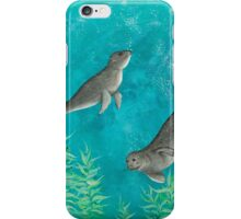 Playful Seals iPhone Case/Skin