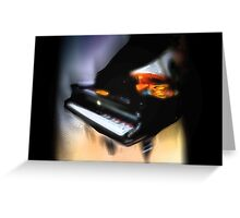 Grand Piano Greeting Card