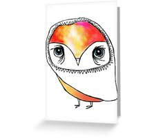 Fancy forehead Greeting Card