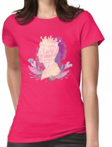 break my heart Womens Fitted T-Shirt